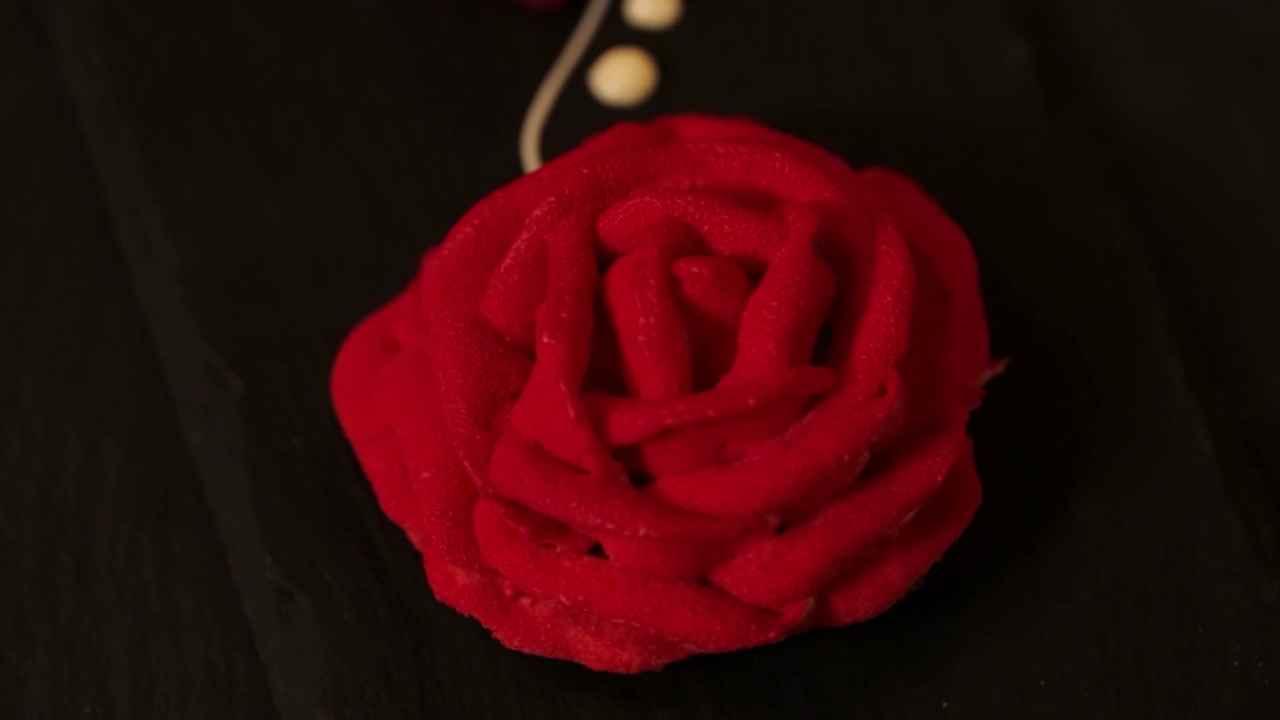 Пирожное «Роза»