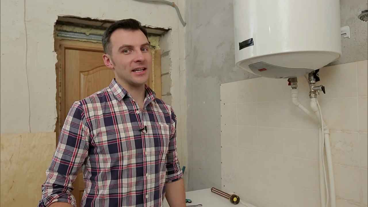 Замена нагревательного элемента в бойлере