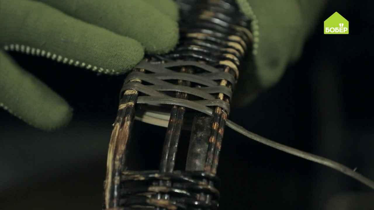 Как отреставрировать плетёную мебель