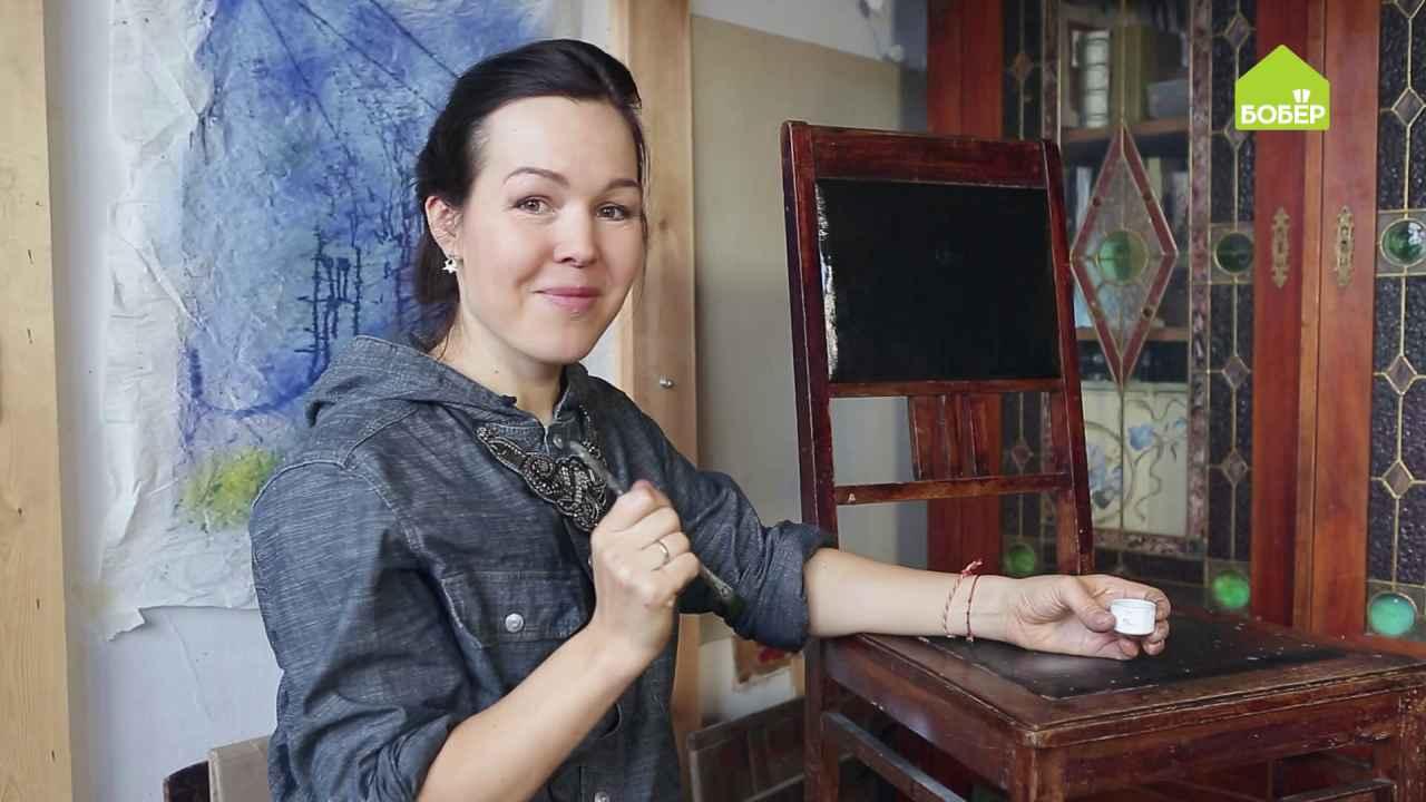 Как отреставрировать обшивку спинки стула