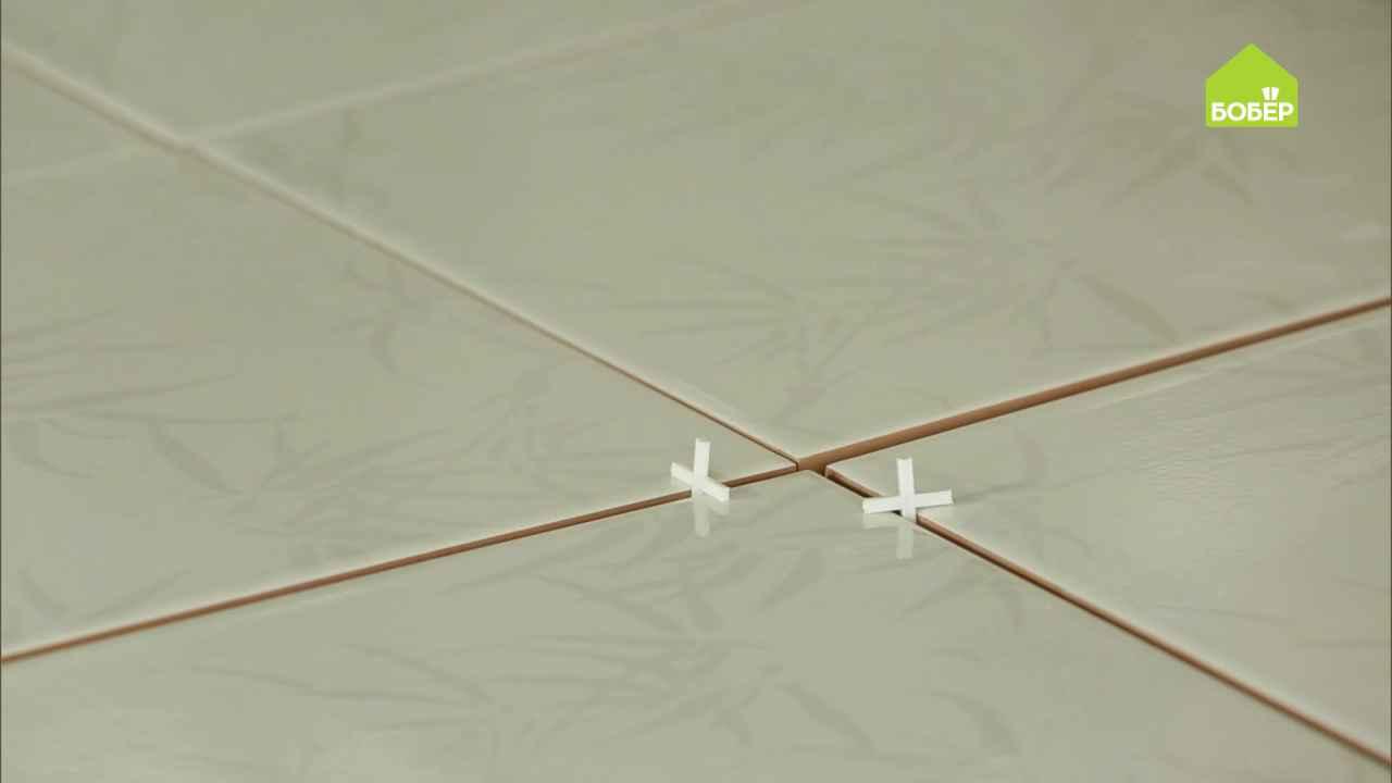 Как правильно выставить крестики при укладке плитки