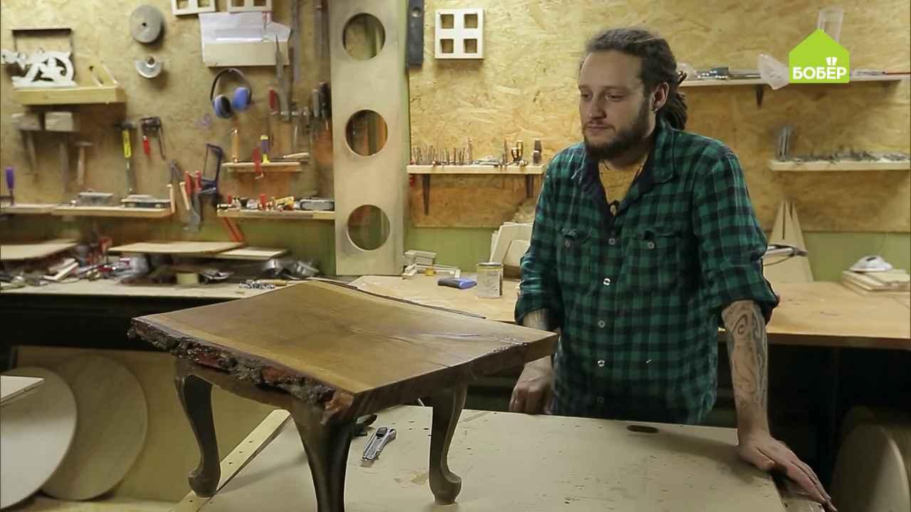 Убираем трещины с деревянной поверхности при помощи эпоксидной смолы