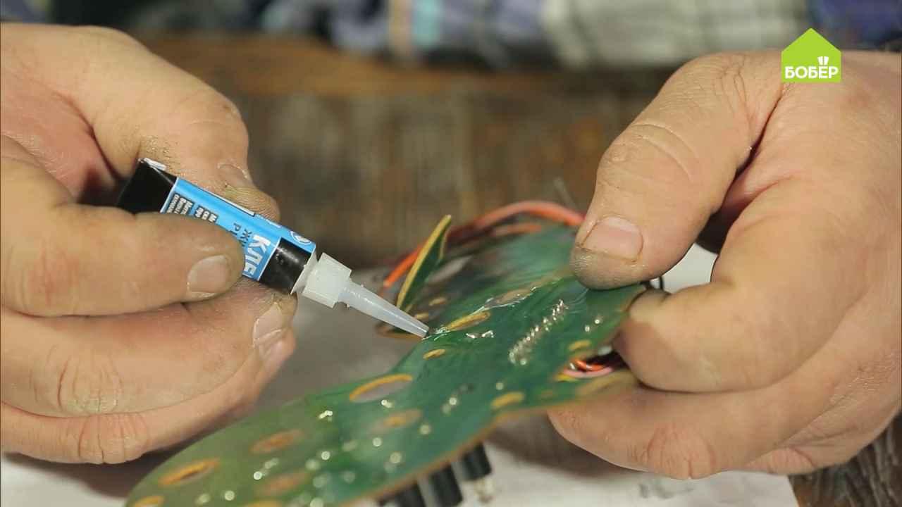 Изготовление токопроводящего клея