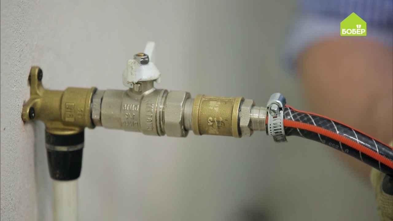 Отвод из металлопластиковых труб для полива сада своими руками