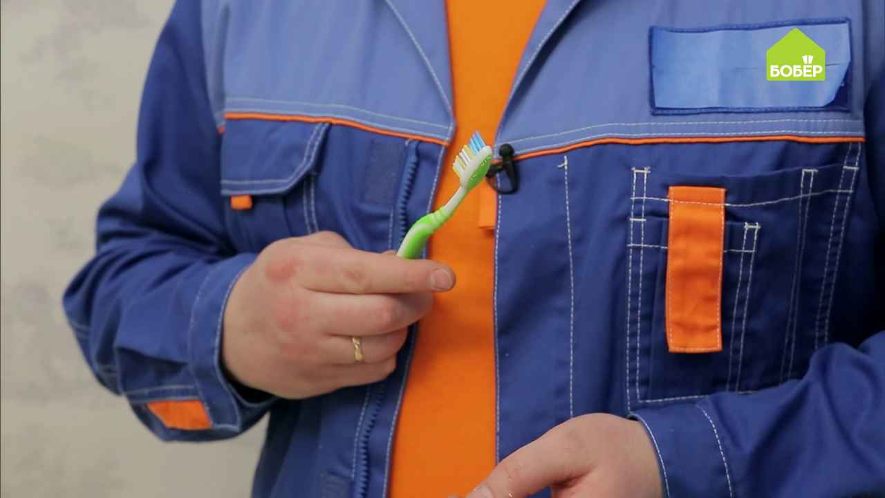 Электрическая зубная щётка своими руками