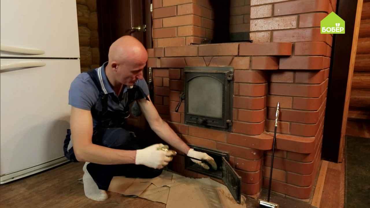 Как почистить печь
