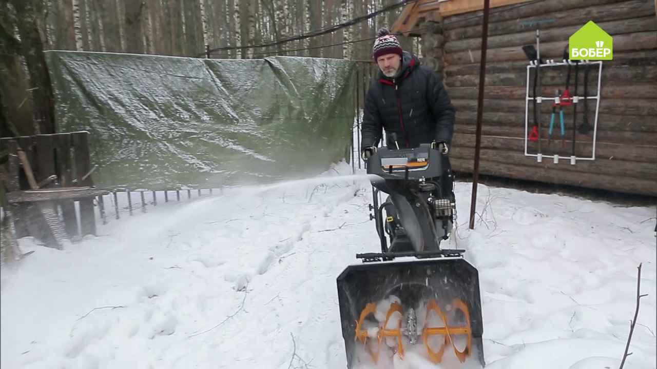 Чиним снегоуборщик