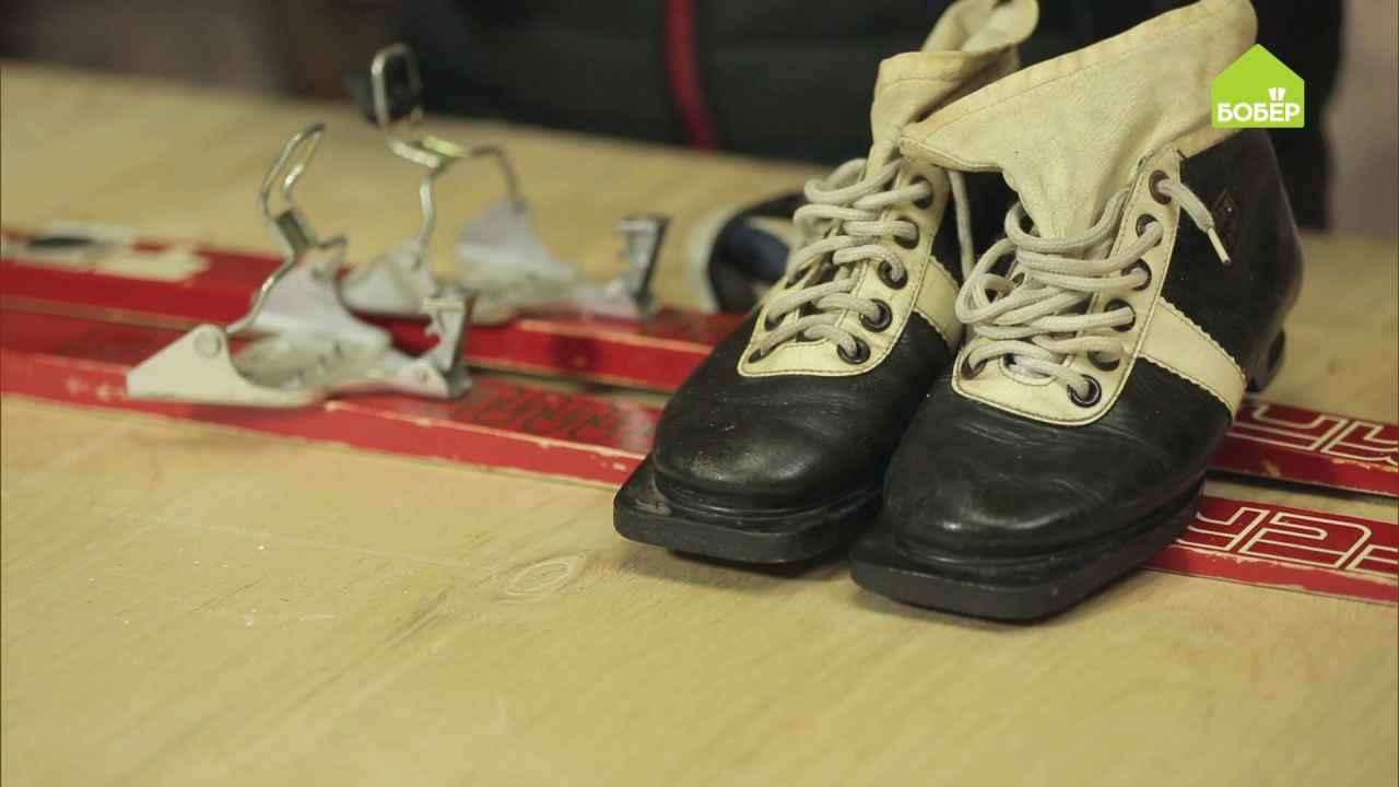Восстанавливаем лыжные ботинки и лыжи