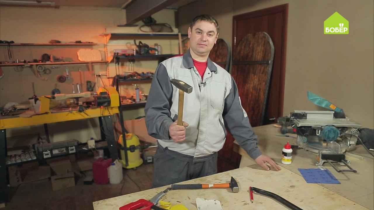 Как зафиксировать молоток на рукоятке