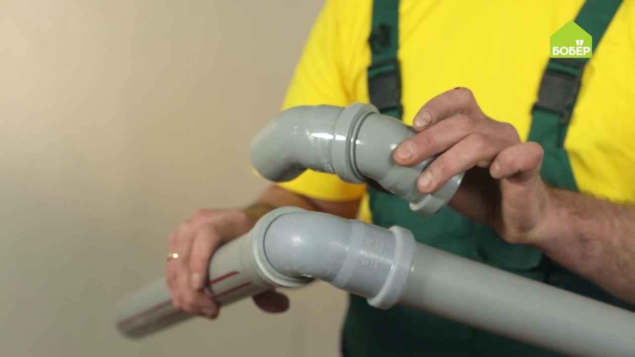 Основные ошибки при сборке канализации
