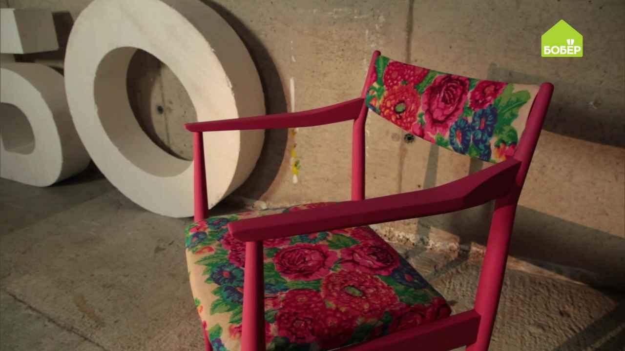 Кресло в русском стиле