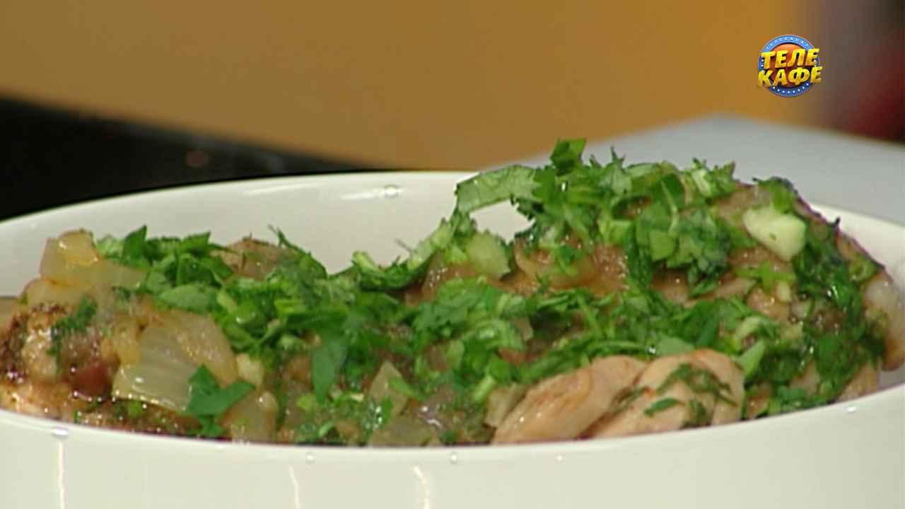 Классический рецепт чахохбили с курицей