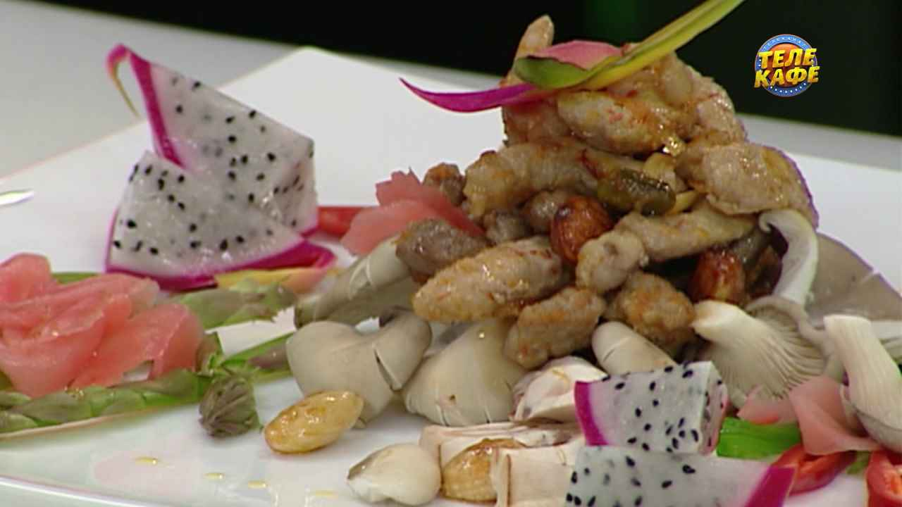 Тёплый тайский салат