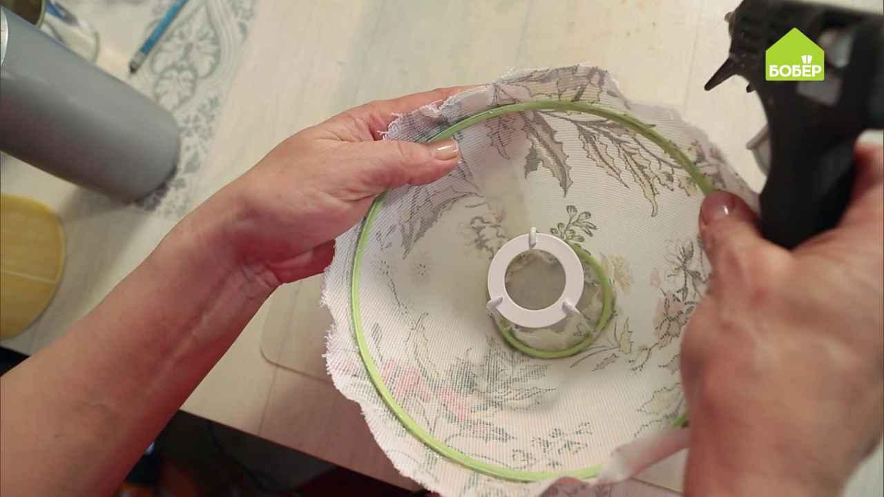 Как сделать пластиковый абажур в домашних условиях