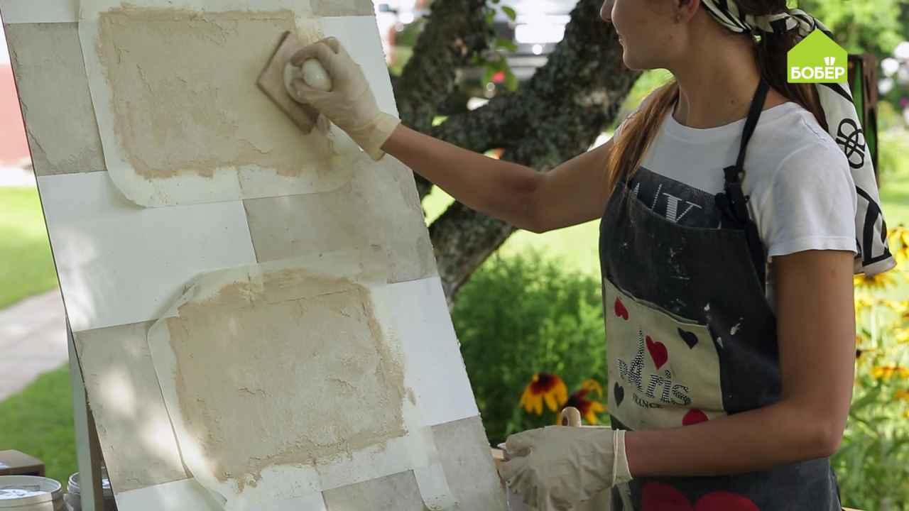 Как повторить фактуру натурального камня с помощью декоративной отделки