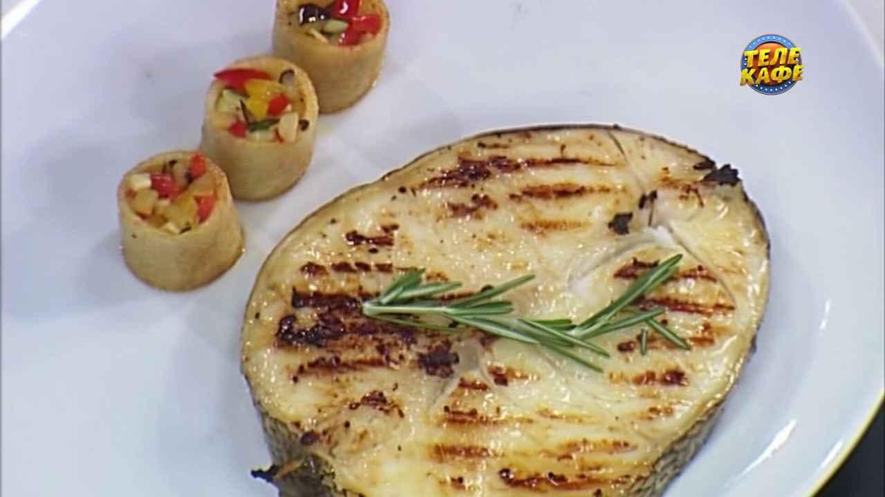 Чилийский сибас в устричном соусе
