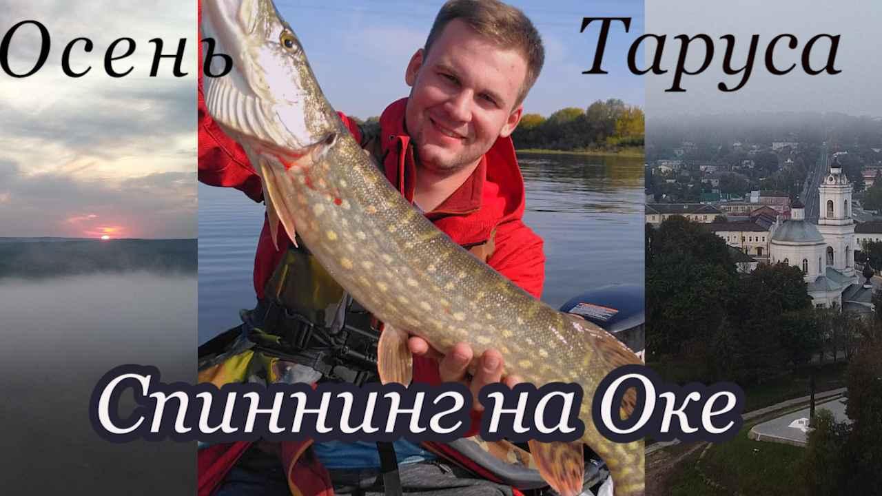 Рыбалка на Оке в районе Тарусы