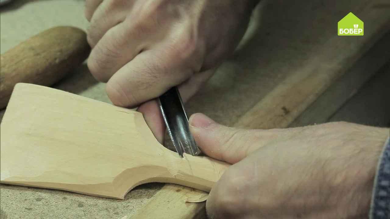 Лопаточка для сковороды своими руками