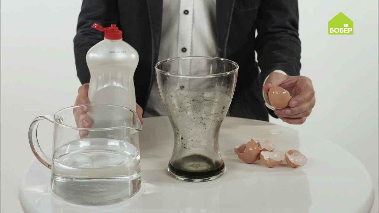Лайфхаки: очищаем посуду