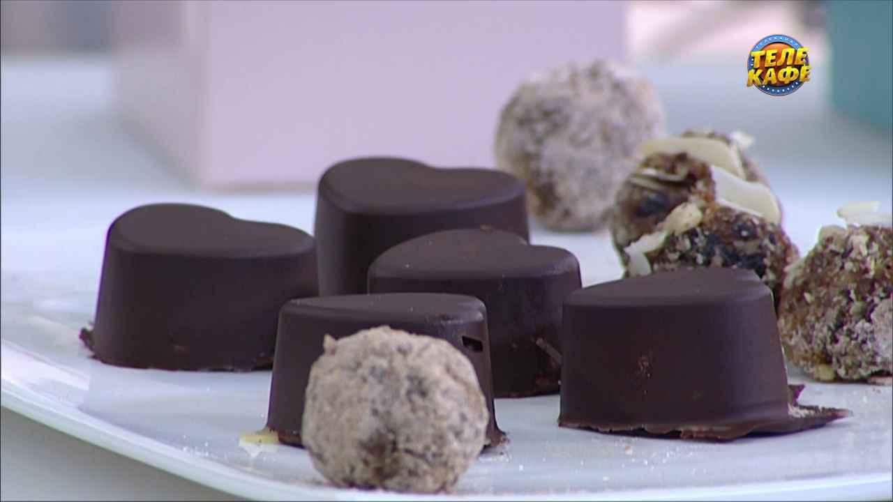 Шоколадные конфеты «Грильяж»