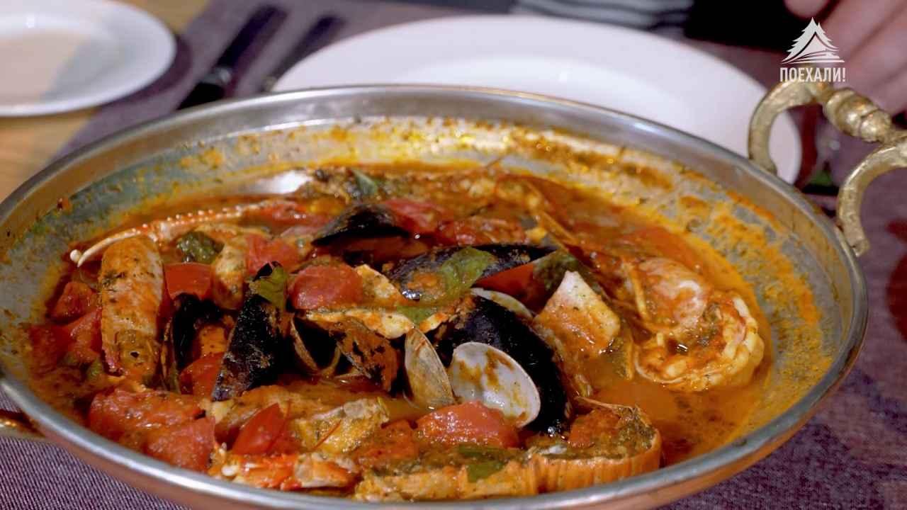 Зуппа ди пеше — итальянский рыбный суп
