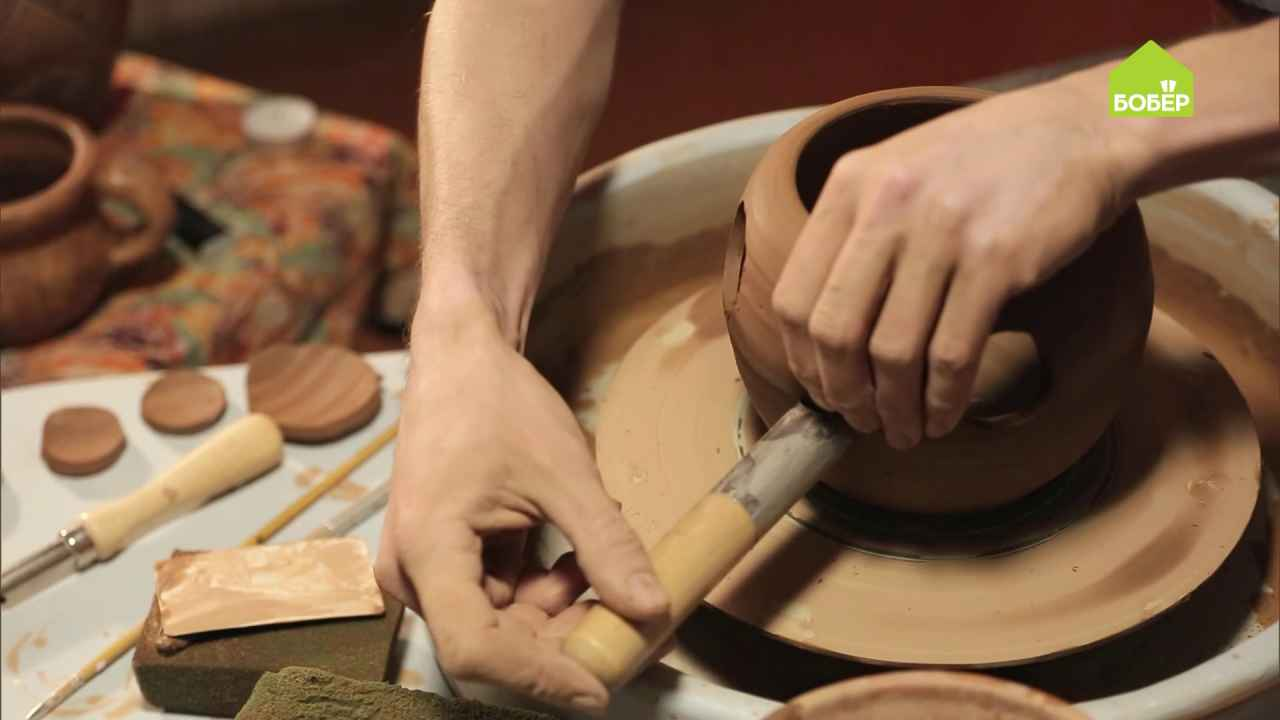 Подогреватель для чайника из глины