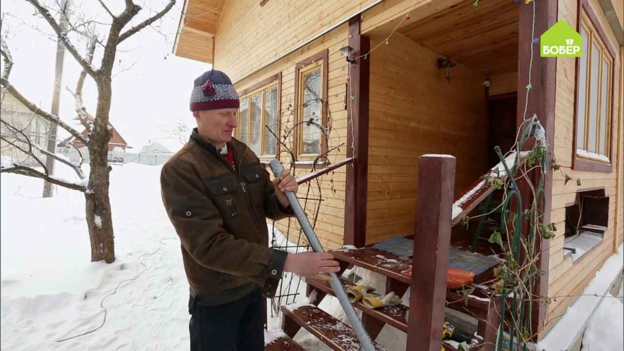 Как укрепить лопату для уборки снега