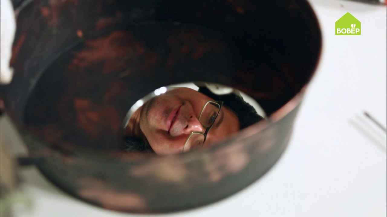 Зеркала из оцинкованных тазов