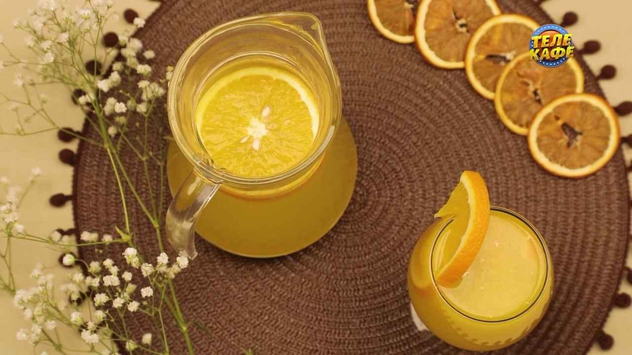 Освежающий домашний лимонад из цитрусовых