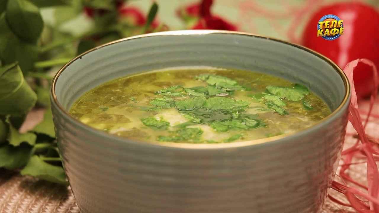 Щавелевый суп по-итальянски