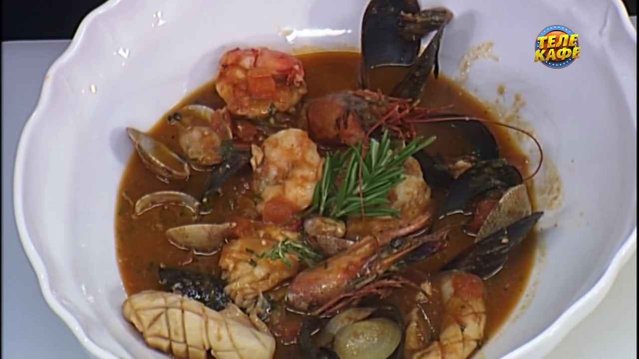 Бродетто ди пеше — суп из морепродуктов