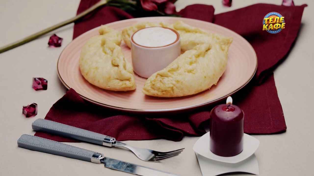 Вареники на пару с печенью и картофелем