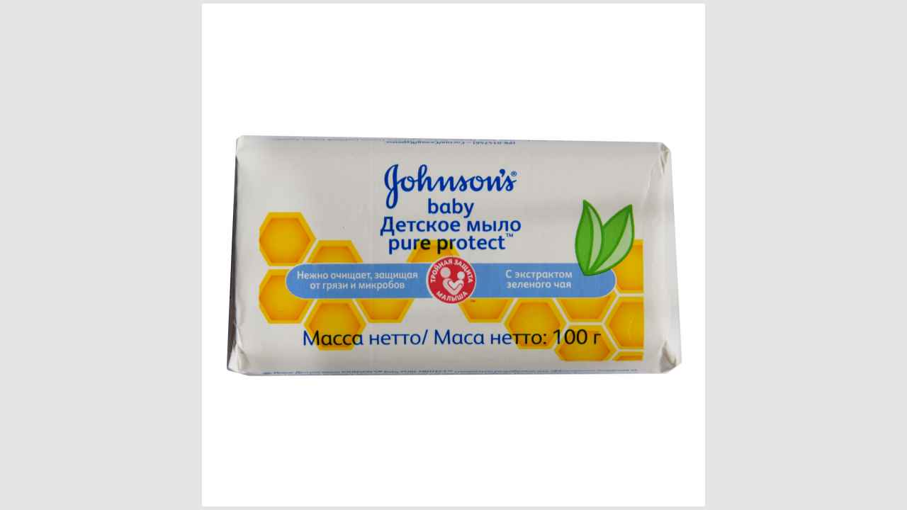 Johnsons baby, детское мыло pure protect