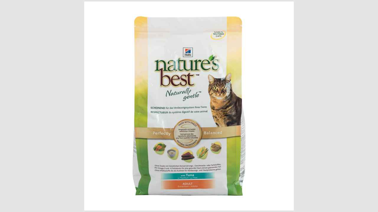 Hill's Nature's Best Naturally gentle Feline Adult с тунцом