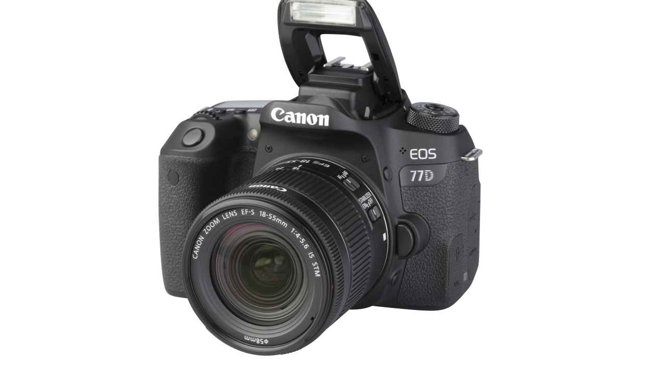 Canon EOS 77D + EF-S 18-55mm 1:4-5.6 IS STM