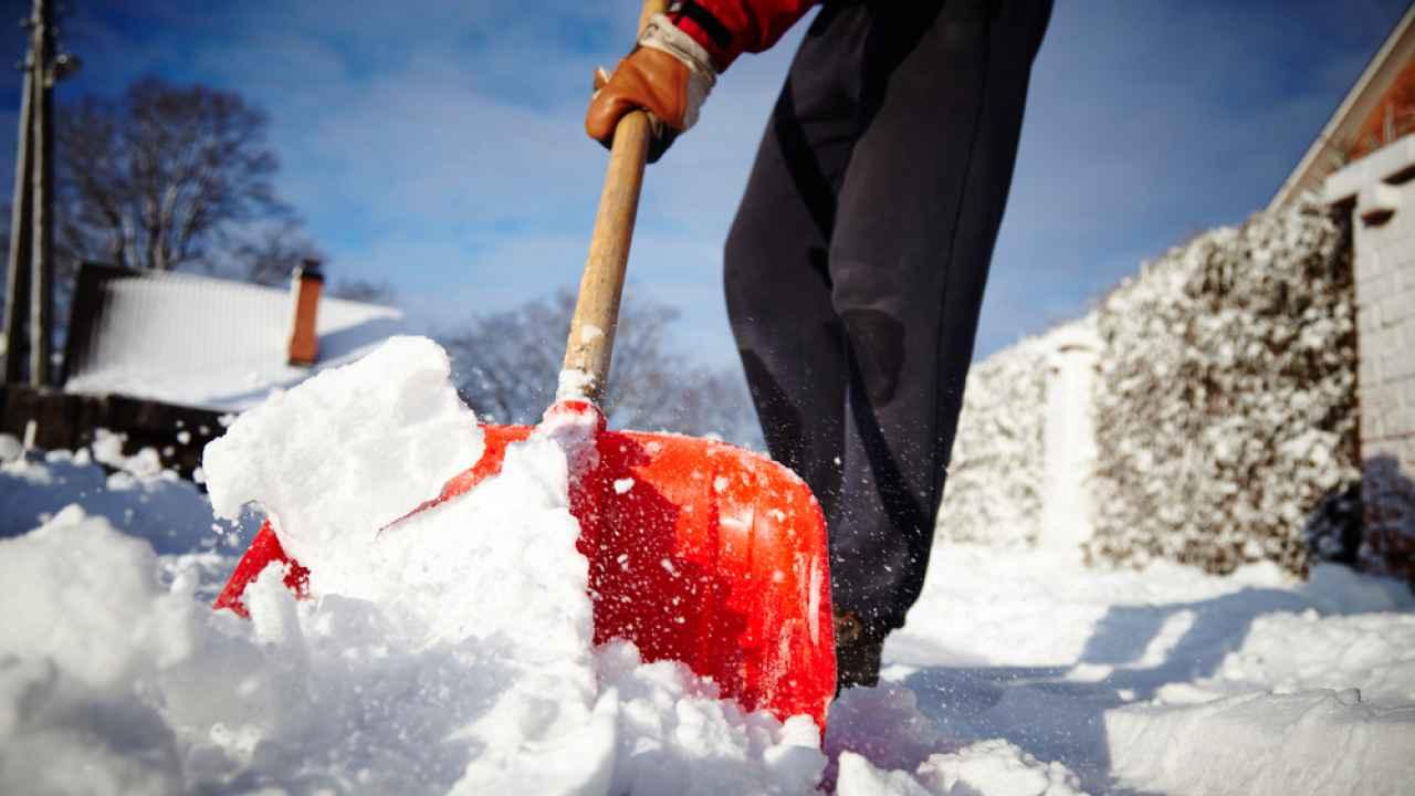 Лопата для уборки снега название